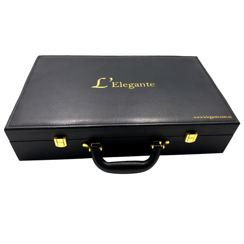 leather cosmetic box COB-051011